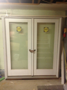Pella Glass Doors (Double Door + Single Door + Two Fixed Units)