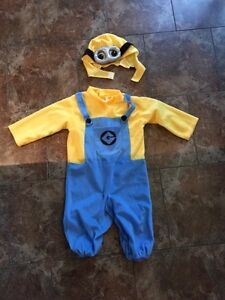 Costume minion enfant- frankenstein enfant- minion adulte