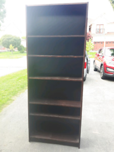 Expresso bookcase shelving