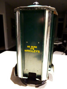 1922 WRIGLEY'S GUM DISPENSER store display ADVERTISING