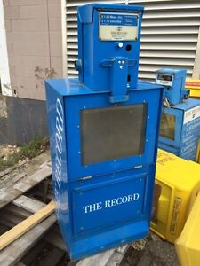 Old Kitchener record mail boxes.