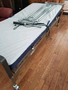 Hospital like bed