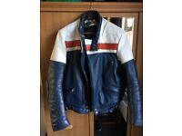 Wolf leather motorbike jacket size 46