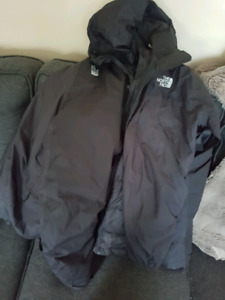 The north face tri climate winter jacket.