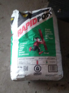 2 bags of Rapid Cement