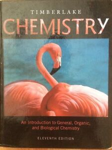 Chemistry: an introduction to general, organic, and biological Cornwall Ontario image 1