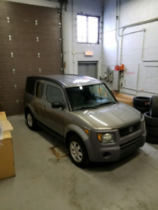 HONDA ELEMENT EX-P AWD MANUAL
