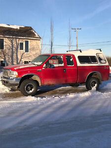 2004 Ford F-250 Ext Cab Pickup Truck