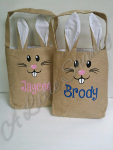 Easter bunny bag / Bunny bag / Personalized gift