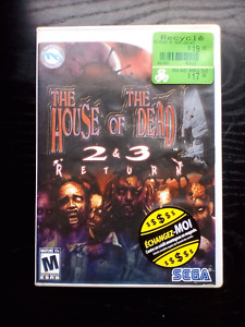 The House of The Dead 2&3 Return for Wii
