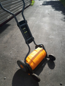 Push Lawnmower/Outdoor Cardio Machine