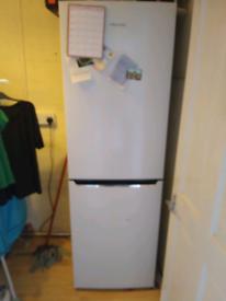 White hisense fridge freezer