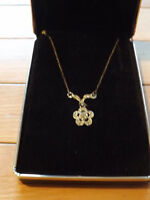 Sterling Silver Chain with pendant New in Box