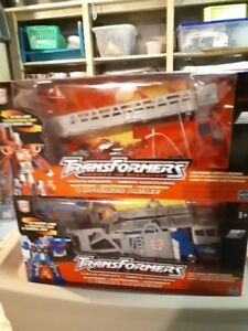 2 TRANSFORMERS ROBOTS IN DISGUISE 2001 Figures For Sale !!!!