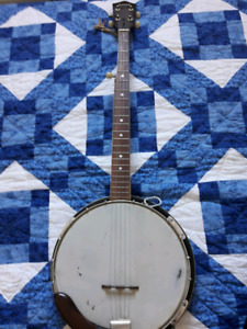 Trade 5 string Banjo for electric guitar or bass