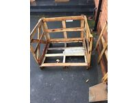 Pallets, wood crates , sleeper timber off cuts ,fire wood