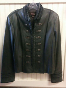Leather Coat by Danier