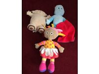 In the night garden singing and talking plush's