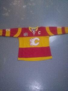 Jerome Iginla Heritage Classic Calgary Flames Jersey