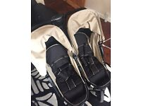 Double buggy - hauck excellent condition