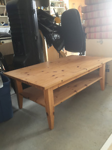 IKEA Pine Coffee Table - Excellent Condition