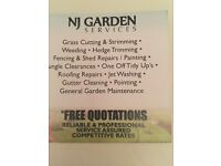 Garden services clearance,fencing , decking jetwashing leaf clearance 25% off all services in sept