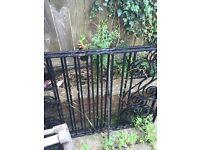 Iron drive/garden gates