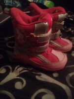 Size 9 Hello kitty winter boots