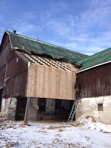 BARN REPAIRS,PAINTING, STEEL ROOFING London Ontario image 6
