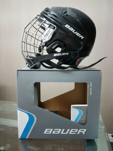 BAUER HOCKEY HELMET COMBO WITH FACE GUARD