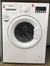 New Service washing machine