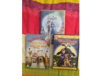 3 brand new dvds £10.00