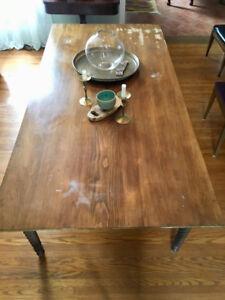 Vintage Harvest Table