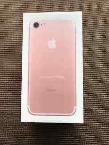 iPhone 7, Rose gold, 128 gb, Unlocked and Sealed