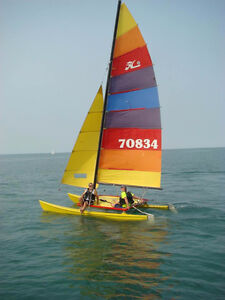 Great Fun in A Hobie Cat