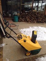 Snow blower 7hp electric start