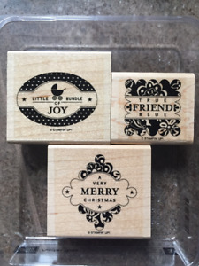STAMP Awesome Gift Tags/Cards Now using PUNCHES THREE