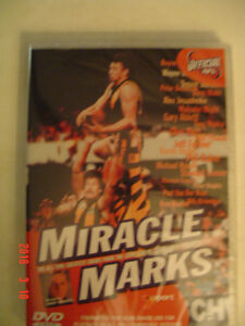 ATTENTION: AUSTRALIAN FOOTBALL FANS- AFL FOOTY MIRACLE MARKS DVD
