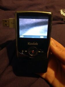 Kodak camcorder with USB