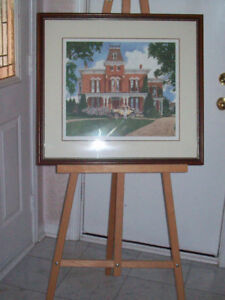 1/2 PRICE *FRAMED Walter Campbell Picture * Numbered Print