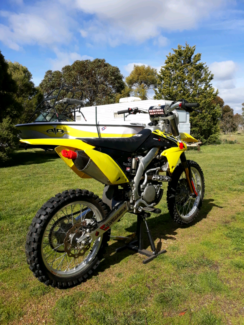 Suzuki Rmz250 Southbank Melbourne City Preview