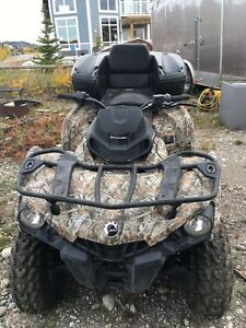 2015 can-am outlander 500 like new