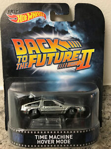 Hot Wheels - Back To The Future - Time Machine Hover Mode