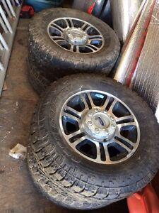 "35"" Toyos on 20"" Superduty Rims"