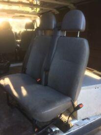Transit rear seats