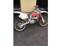 CR125 swap for 250