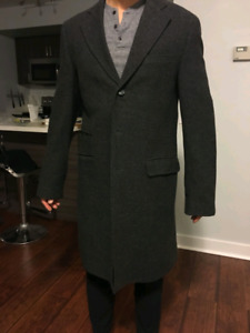 Like New Mexx Wool Overcoat (Size 40) - $50
