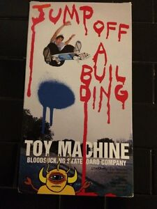 Toy Machine - Jump Off A Building VHS skateboard video