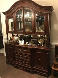 Wooden china stand/cabinet