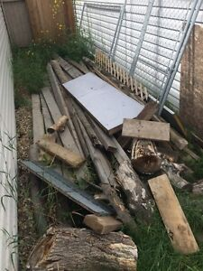 Free lumber and firewood